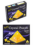 Пазлы 3D кристалл «Пирамида», 29014A, купить