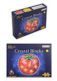 Пазлы 3D кристаллы «Помидорка», 9041A