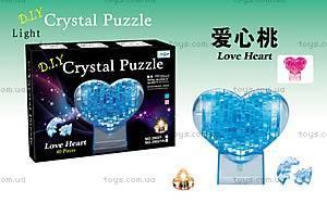 Пазлы 3D «Сердце», 29021A
