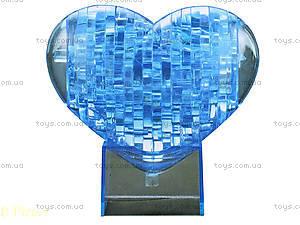 Пазлы 3D «Сердце», 40 деталей, 29021