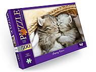 Пазл 500 элементов Sleeping Kittens, С500-13-04, купить
