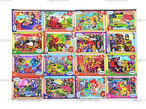 Детские пазлы MINI «Любимые герои», 33210, игрушки