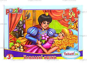 Детские пазлы MINI «Любимые сказки», 54 элемента, 13210, цена