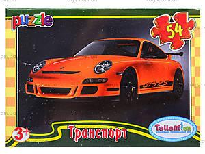 Детские пазлы MINI «Транспорт», 54 элемента, 53210, игрушки