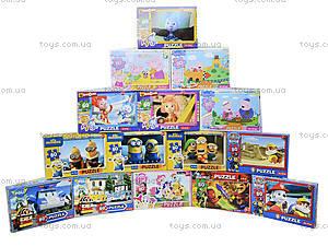 Детские пазлы с героями мультфильмов, 80 элементов, , купить