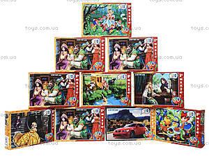 Пазлы с героями сказок на 80 элементов, 32, игрушки