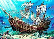"""Пазлы """"Затонувший корабль"""" 1500 элементов, 4558, купить"""