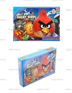 Пазлы Angry Birds для детей, B001020