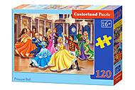 Пазлы «Бал принцесс», 120 элементов, В-13449, купить