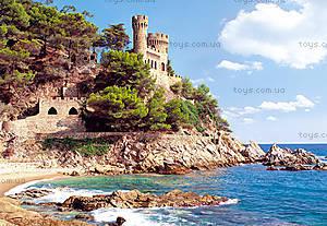 Пазл Castorland на 1000 деталей «Крепость Lloret de Mar, Испания», 0774
