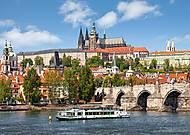 Пазл Castorland на 1000 деталей «Прага. Чехия», 2426