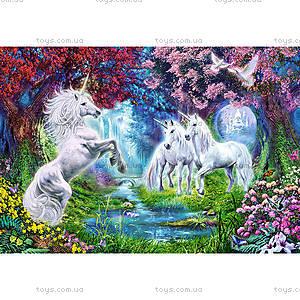 Пазл Castorland на 1000 деталей «Единороги у ручья», 2440