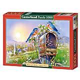 Пазл Castorland на 1000 деталей «Птицы и почтовый ящик», 2662, фото
