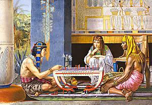 Пазл Castorland на 1000 деталей «Египетские шахматисты», 2778