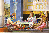 Пазл Castorland на 1000 деталей «Египетские шахматисты», 2778, фото