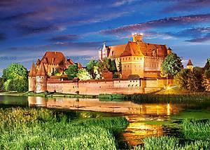 Пазл Castorland на 1000 деталей «Замок Мальборк. Польша», 3010, купить