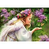 Пазл Castorland на 1000 деталей «Бабочка и ангел», 3034
