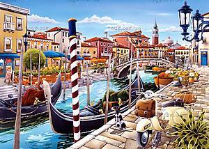 Пазл Castorland на 1000 деталей «Венецианский карнавал», 3058