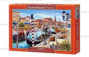 Пазл Castorland на 1000 деталей «Венецианский канал», 3058, фото