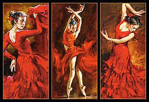 Пазл Castorland на 1000 деталей «Танцы», 3119