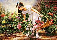 Пазл Castorland на 1000 деталей «В розовом саду», 3126