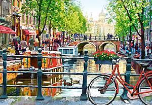 Пазл Castorland на 1000 деталей «Амстердам», 3133