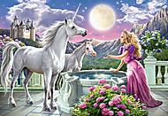 Пазл Castorland на 1000 деталей «Принцесса и единорог», 3164, фото