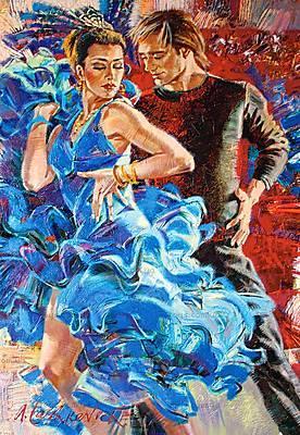 Пазл Castorland на 1000 деталей «Танец в бирюзовых тонах», 3287