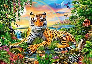 Пазл Castorland на 1000 деталей «Король джунглей», 3300