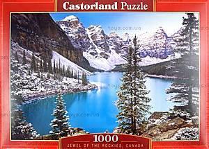 Пазл Castorland на 1000 деталей «Сокровище Скалистых гор, Канада», С-102372