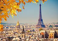 Пазл Castorland на 1000 деталей «Осень в Париже», С-103089, фото
