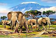 Пазл Castorland на 1000 деталей «Утро на Килиманджаро», С-103188, купить