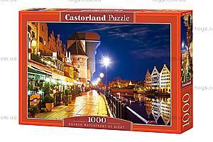 Пазл Castorland на 1000 деталей «Гданьск ночью», С-103379, купить