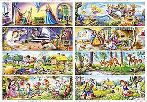 Набор пазлов Castorland MINI на 105 деталей «Сказки», 105в