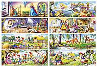 Набор пазлов Castorland MINI на 105 деталей «Сказки», 105в, фото