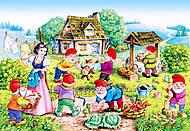 Пазл Castorland 120 midi «Белоснежка и 7 гномов», 12220, фото