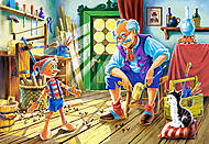 Пазл Castorland 120 midi «Пиноккио», 12404, фото