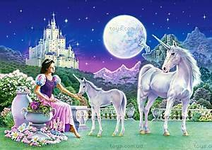Пазл Castorland 120 midi «Принцесса с Единорогами», 126
