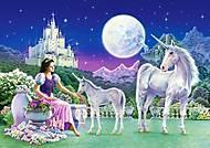 Пазл Castorland 120 midi «Принцесса с Единорогами», 126, купить