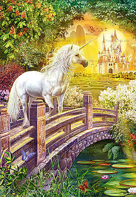 Пазл Castorland 120 midi «Зачарованый сад», 12664