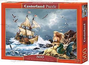 Пазл Castorland 120 midi «Тайны моря», В-13166, купить