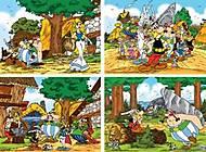 Пазл Castorland 120 mini «Астерикс», 120 А, фото