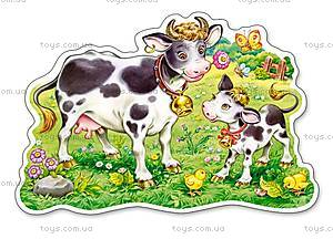 Пазл Castorland maxi на 12 деталей «Коровы на лугу», 062