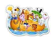 Пазл Castorland на 15 деталей «Ноев ковчег», 054, отзывы