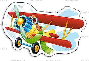 Пазл Castorland на 15 деталей «Забавный самолет», 092
