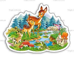 Пазл Castorland на 15 деталей «Маленький олень», В-РU06129, купить
