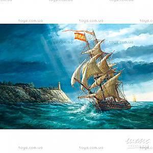 Пазл Castorland на 1500 деталей «Парусник и буря», 0427
