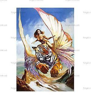 Пазл Castorland на 1500 деталей «Девушка и тигр», 0489
