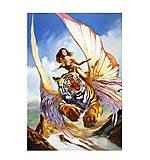 Пазл Castorland на 1500 деталей «Девушка и тигр», 0489, купить