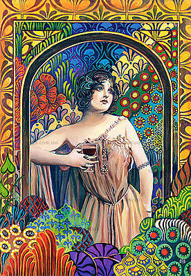 Пазл Castorland на 1500 деталей «Богиня вина», 0847